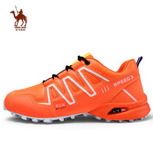 CAMEL JINGE Hiking Shoes Men Outdoor Trekking Shoes Men's Sports Sneakers Tourism Shoes Zapatillas Trekking Hombre Bergschoenen