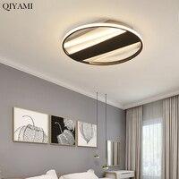 Круглый светодиодный потолочный светильник современный гостиная спальня кухня дистанционное управление