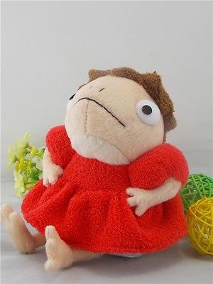 New Ponyo on Cliff PONYO Princess Soft authentic Plush Toy Doll STUDIO GHIBLI 8.5 New GiftNew Ponyo on Cliff PONYO Princess Soft authentic Plush Toy Doll STUDIO GHIBLI 8.5 New Gift