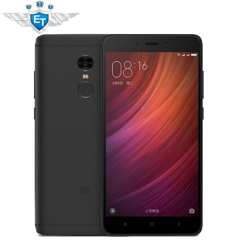 Original Xiaomi Redmi Note 4 3GB 32GB Global ROM Smartphone 5.5 inch 1080P MTK Helio X20 Deca Core 13MP Metal Body Fingerprint