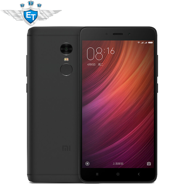Original Xiaomi Redmi Note 4 3GB 32GB Global ROM Smartphone 5.5 inch 1080P MTK Helio X20 Deca Core 13MP Metal Body Fingerprint