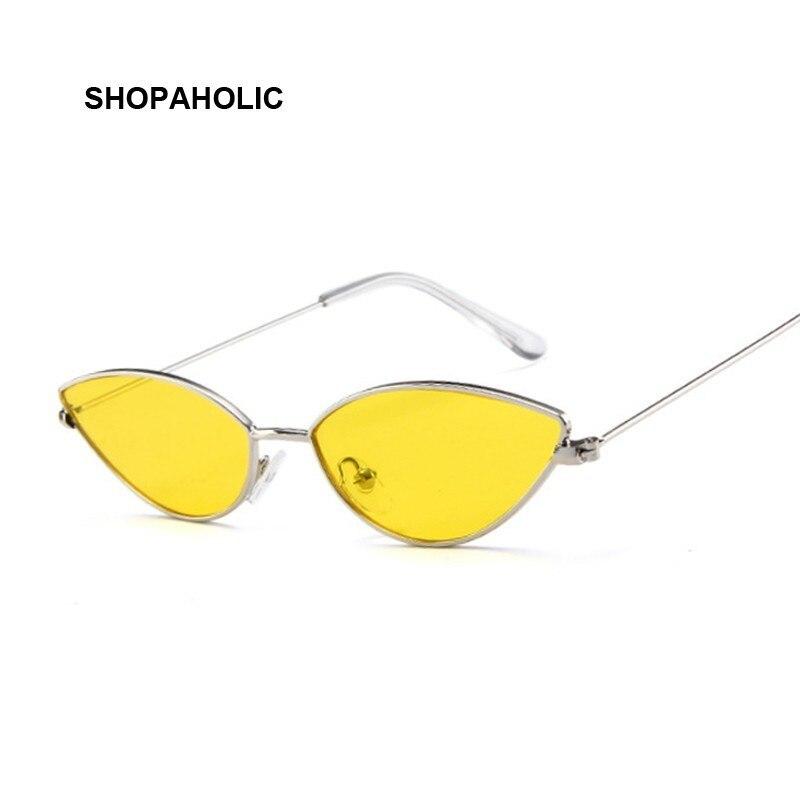 152.21руб. |Женские солнцезащитные очки кошачий глаз, Модные Винтажные зеркальные очки из металла розового золота UV400|Женские солнцезащитные очки| |  - AliExpress