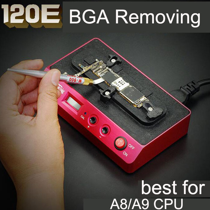PPD 120E Low Temperature Welding Platform Demolition for iPhone 7 6s A8 A9 BGA Chip CPU BGA Removing Refurbished Rework Station ppd 120e low temperature welding platform demolition for iphone 7 6s a8 a9 bga chip cpu bga removing refurbished rework station