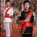 Vstinus europeu masculino de roupas tambor marechal uniforme de um príncipe geral roupas estágio fotografia