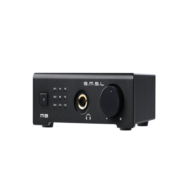 SMSL M3 USB AMP Multi-function Optical Coaxial DAC Headphone Amplifier Portable USB Powered Audio Decoder Portable DAC Converter 2016 newest high quality smsl m6 hifi audio decoder headphone amplifier 32b 384khz usb asynchronous dac audio multifunction amp
