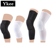 1Pc Basketball Volleyball Knee Support Honeycomb Sponge Pad Leg Sleeve Knee Protector joelheira rodilleras deportivas Soccer