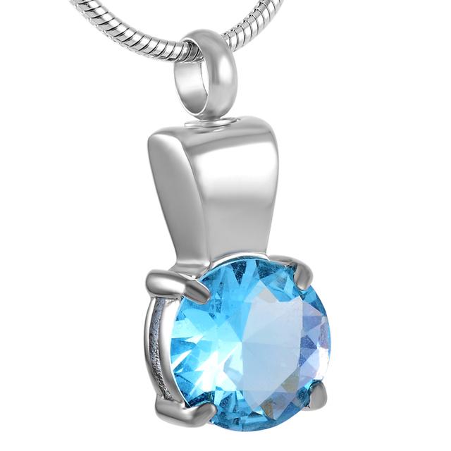 Eternity Stone Urn Necklace