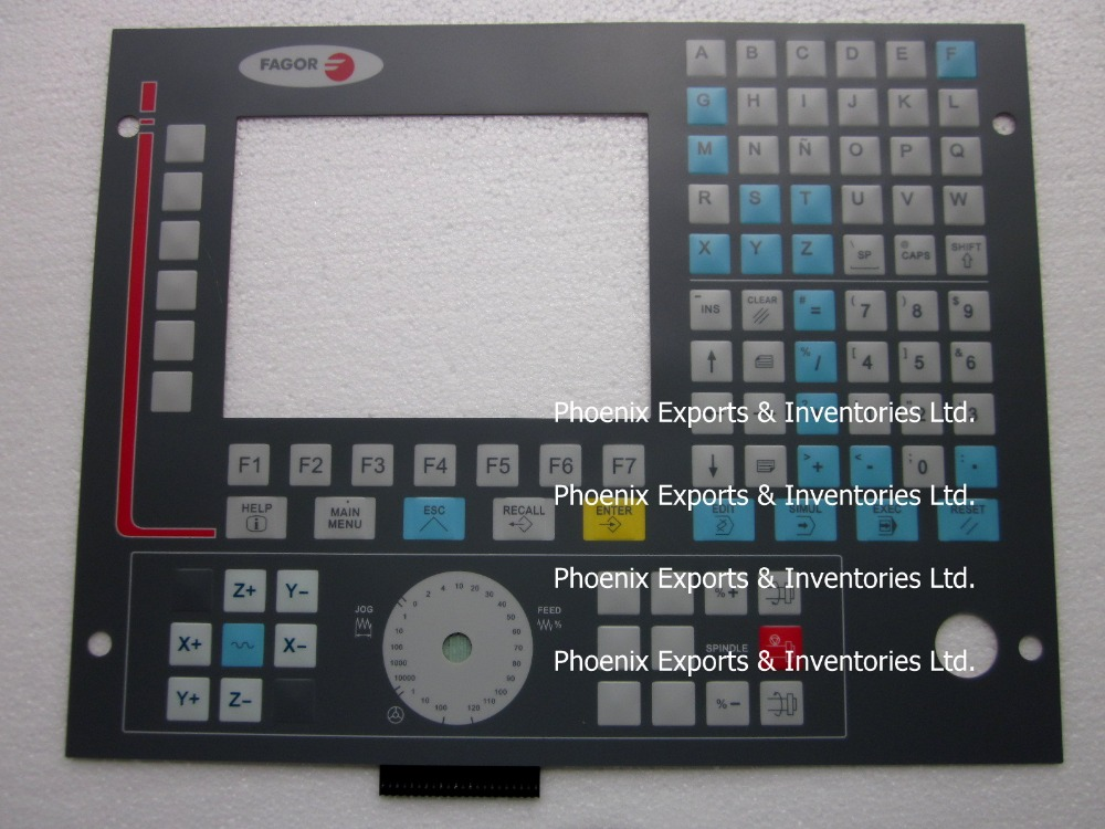 Brand New Membrane keypad for fagor cnc 8035 M COL 2 Operating Panel 8035 M COL R 2 Button Panel-in LCD Modules from Electronic Components & Supplies