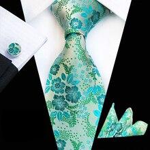 3 шт./компл. 8 см Для мужчин строгие Галстуки набор галстуков высококачественный плетёный Пейсли Вышитые Галстук-бабочка с карманом Прямоугольные Запонки