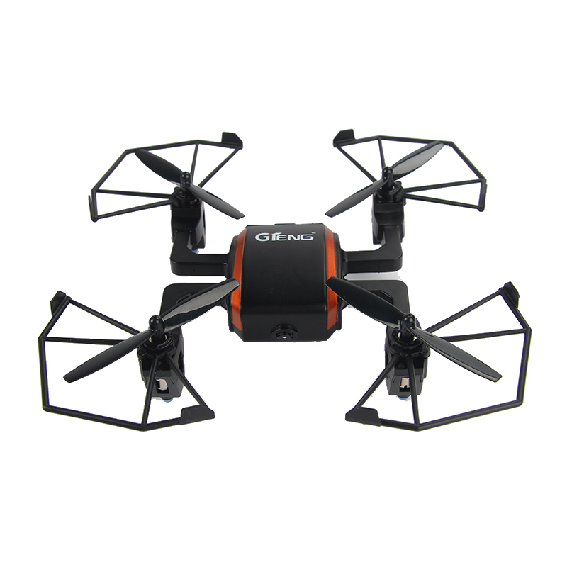 Gteng T901F FPV Mini Drone 2.4G Profissional RC Quadcopter with 720P Com HD Camera Remote Control Toys For Boys jxd 510w drones with camera hd rc quadcopter drone profissional dron selfie fpv wifi remote radio control helikopter boys toys