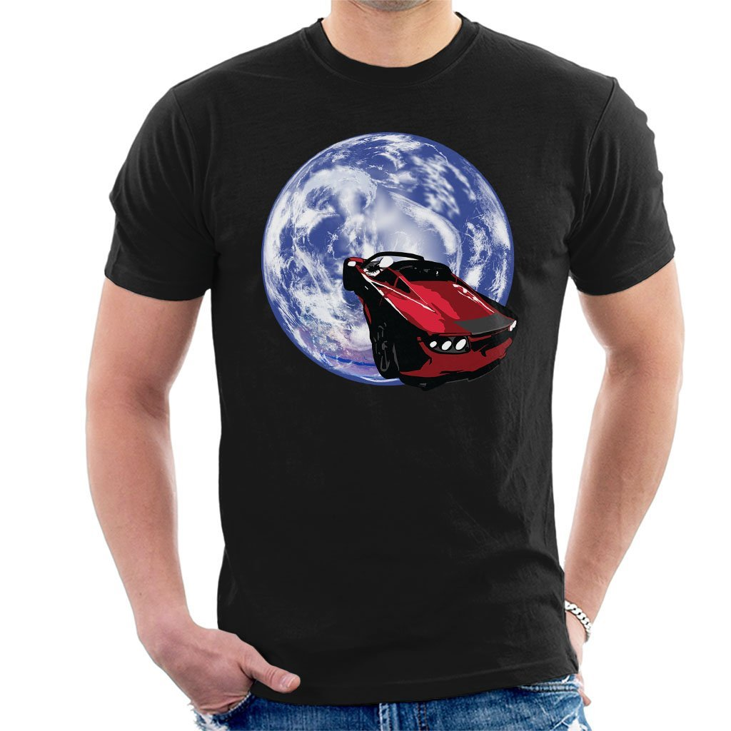 High Quality T-Shirt SpaceX Falcon Heavy Launch Tesla Roadster In Space Mens T-Shirt
