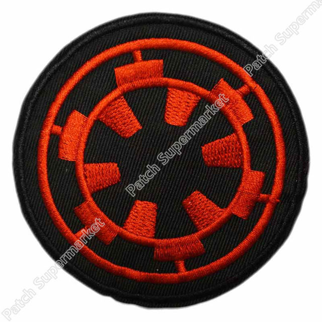 411f364507b Retro STAR WARS IMPERIAL SPECIAL Forces TV Movie Film Embroidered Iron-on  Sew-on