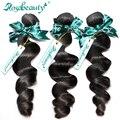 Необработанные Бразильский Девственные Волосы Свободная Волна Rosa Продукты Волосы 3 Пучки 6А Класс 100% Человеческих weave bundle Волос Бесплатная Доставка