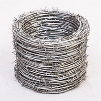 100m Ingenuity Anti Climb Thorn Anti theft Net Barbed Wire Trichite Highway Net Fence Wire