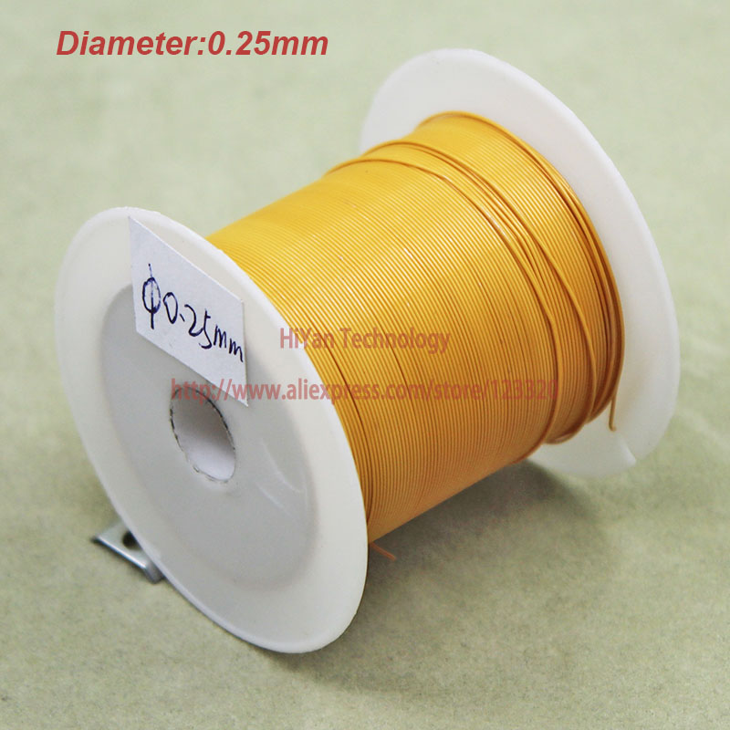 20meters/lot) Triple Insulated Copper Wire Bare Copper Diameter 0.25 ...