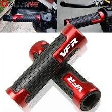 Evrensel Anti Skid spor zarif kolu Bar sapları Ends Moto gidon Honda VFR400 NC30 VFR750 VFR 800 800/F 1200/F