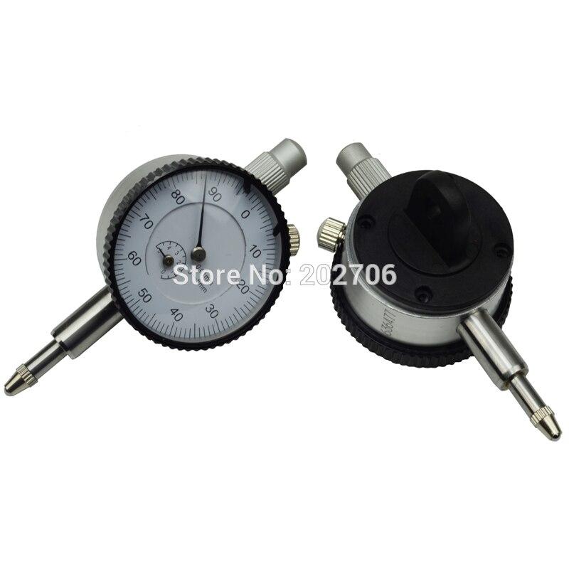 Mejor venta precio barato 0-5mm dial indicador de pequeño diámetro de la placa de dial 40mm