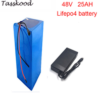 No taxes 2000cycles lifepo4 48v 1000w battery pack with lifepo4 48v 25ah battery and 48v 25ah lifepo4 battery pack