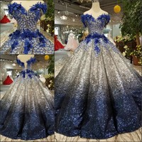 Gradual Elegant Quinceanera Dresses 2019 Real Pictures Sexy Lace up Floor Length Off Shoulder Ball Gowns Sweet 15 16 Prom Gowns