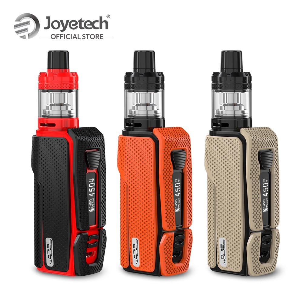 Nouvelle D'origine Joyetech ESPION Soie Kit Avec 2.5 ml NotchCore Atomiseur 2800 mah Batterie Intégrée 80 w Sortie Cigarette Électronique