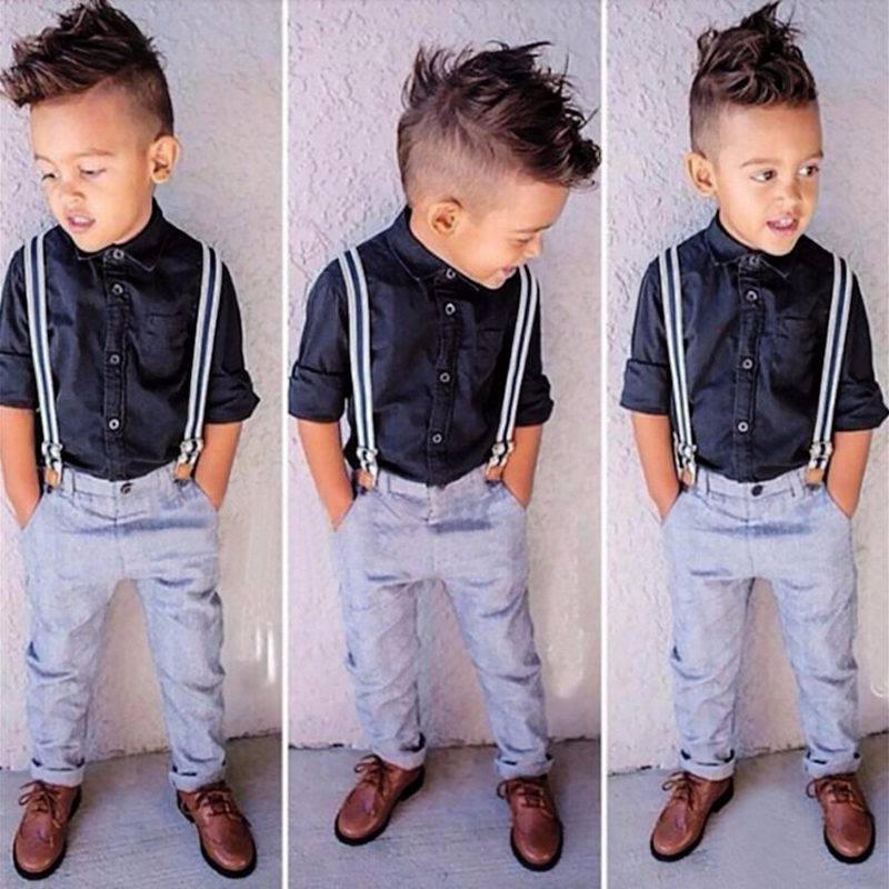 Children Boy Clothing Sets Handsome Child Boys Clothes 3: Aliexpress.com : Buy IEFiEL 3PCS Handsome Gentleman Baby
