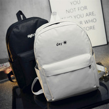 Women Backpack Canvas Bag Rucksack New Casual Preppy Style Backpack  Day and Night School Shoulder School Bags for Teenagers