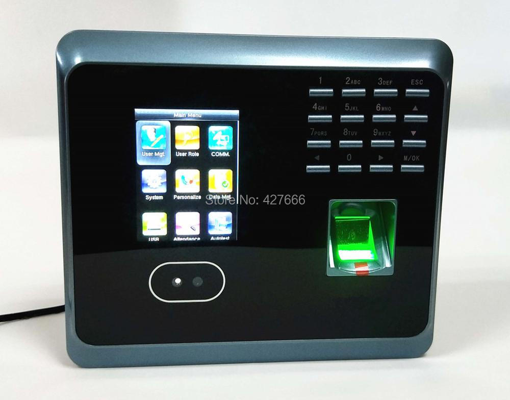 WiFi Facial Fingerprint Employee Time Attendance UF100Plus TCP/IP Face Time Attendance System With Free Software uf100plus face recognition time attendance with fingerprint and rfid card em card reader tcp ip wifi facial employee time clock