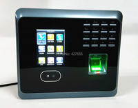 WiFi Facial Fingerprint Employee Time Attendance UF100Plus TCP/IP Face Time Attendance System With Free Software