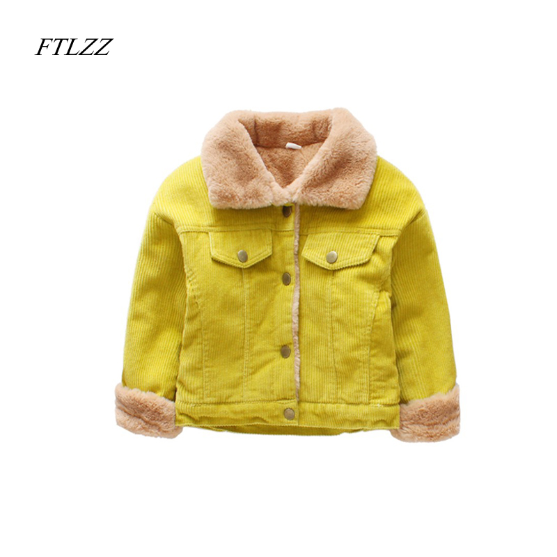 winter Kids Boys Girls Warm Jacket Leisure Jacket Plus Velvet Winter Spring Children's Wear Cotton Shirt Late Autumn Outwear 2016 winter new soft bottom solid color baby shoes for little boys and girls plus velvet warm baby toddler shoes free shipping