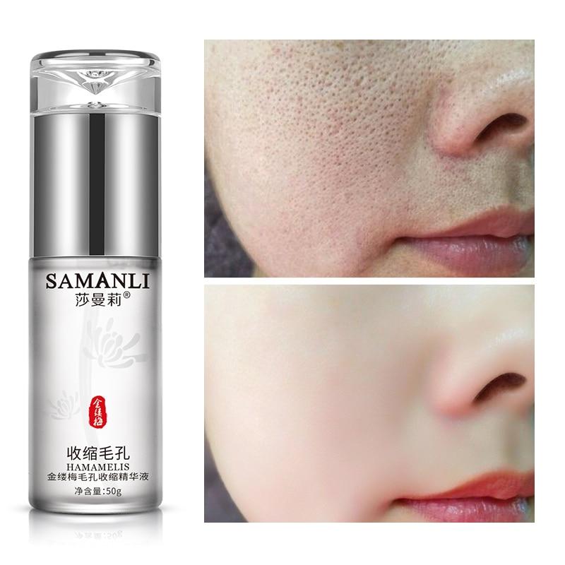 Witch Hazel Shrink Pore Essence Skin Care Serum Moisturizing