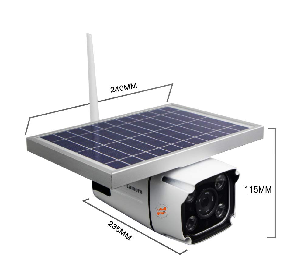 Image 5 - SmartYIBA 1080P 2.0M Wireless Solar Battery Power Waterproof Outdoor Surveillance Security CCTV IP Camera 4G SIM Video Recorder-in Surveillance Cameras from Security & Protection