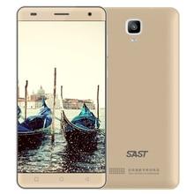 Оригинальный SAST SA8 2 ГБ Оперативная память 16 ГБ Встроенная память сенсорный экран смартфона MTK 2600 мАч Батарея HD 5.0 «500 Вт камеры мобильного телефона