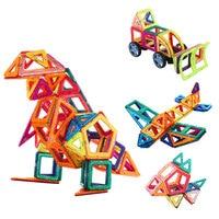 Magnetic DIY Model building blocks parts construction toys for Children toddlers Designer plastic Kids Educational toys