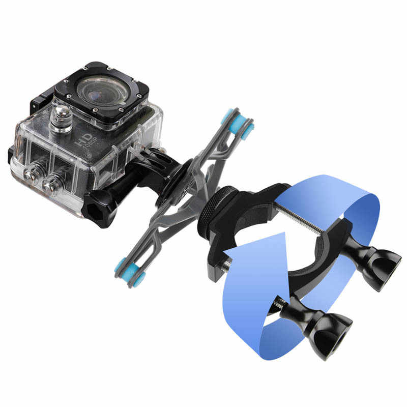 LEORY 3IN1 Bicycle Mount Bike Handlebar Seatpost Tripod Holder Clamp For Gopro Hero 7 6 SJCAM SJ4000 for Xiaomi Cam Accessory