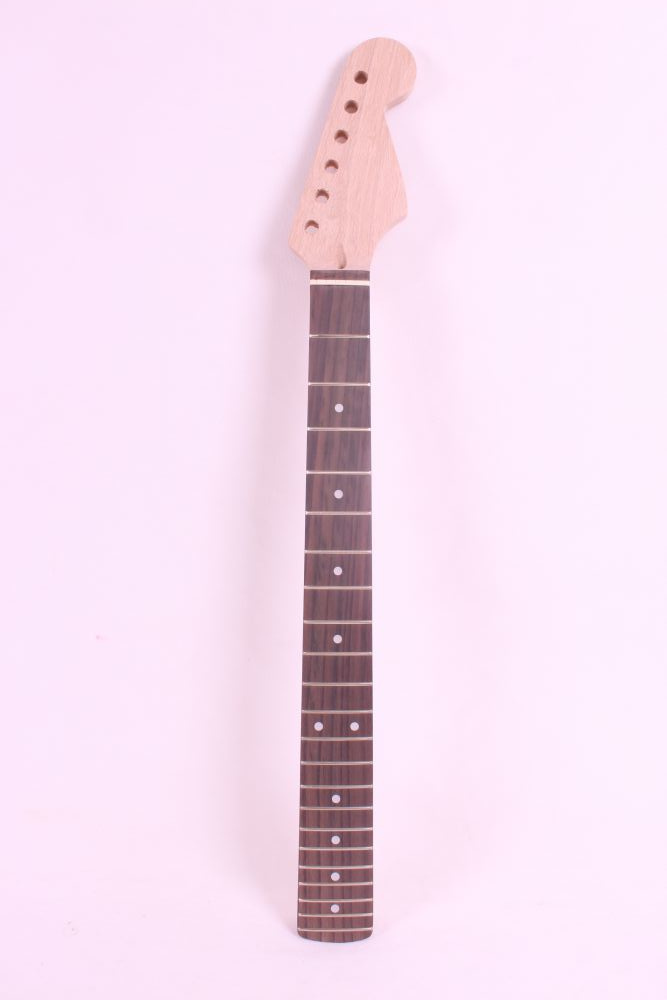 one unfinished electric guitar neck mahogany made and rosewood fingerboard Bolt on 22 fret very good one left unfinished electric bass guitar neck solid wood 22 fret new rosewood fingerboard maple made