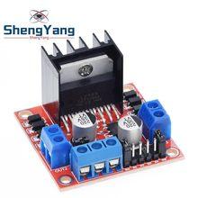 ShengYang-controlador de Motor paso a paso, módulo de placa Dual H Bridge DC L298N, 1 Uds.