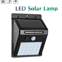 цена на Waterproof Solar Lamp PIR Motion Sensor Wall Light Outdoor Solar Light Energy Saving Street Yard Path Home Garden Security Lamp