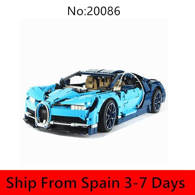 Cool briques de construction de voiture de course Technic modèle blocs de construction Set briques autobloquantes jouets compatibles avec Legoingly 42083 42056