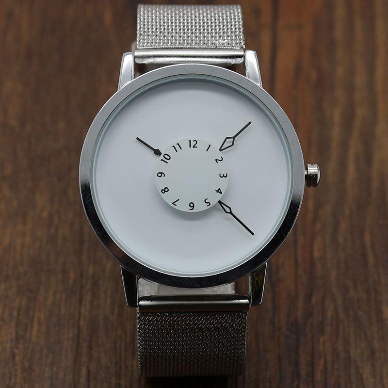 PAIDU Fashion Brand Woman Man Unisex Quartz Dress WristWatch Simple Designer Net Mesh Sports Watches Band Gift Relogio Masculino