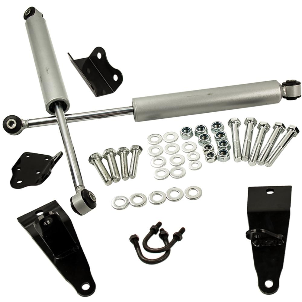 2003-2012 Dodge Ram 2500 3500 4WD Dual Steering Stabilizer