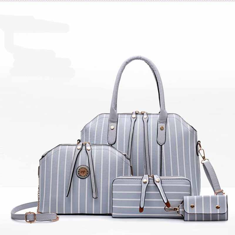 Femmes sac ensemble Top-poignée grande capacité femme gland sac à main mode sac à bandoulière sac à main dames PU cuir sac à bandoulière