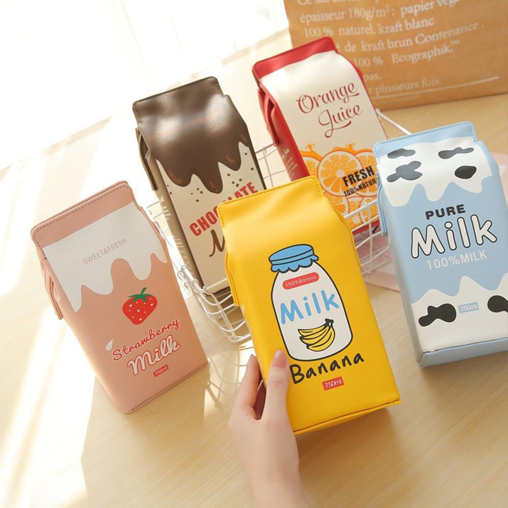 Women Wallet Ladies Girl Kawaii Milk Crate Cartoon Wallet Portable Handbag Dropshipping