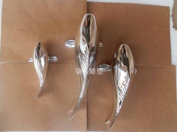 Aliexpress.com : Buy Hotel wall art abstract fish sculpture ...