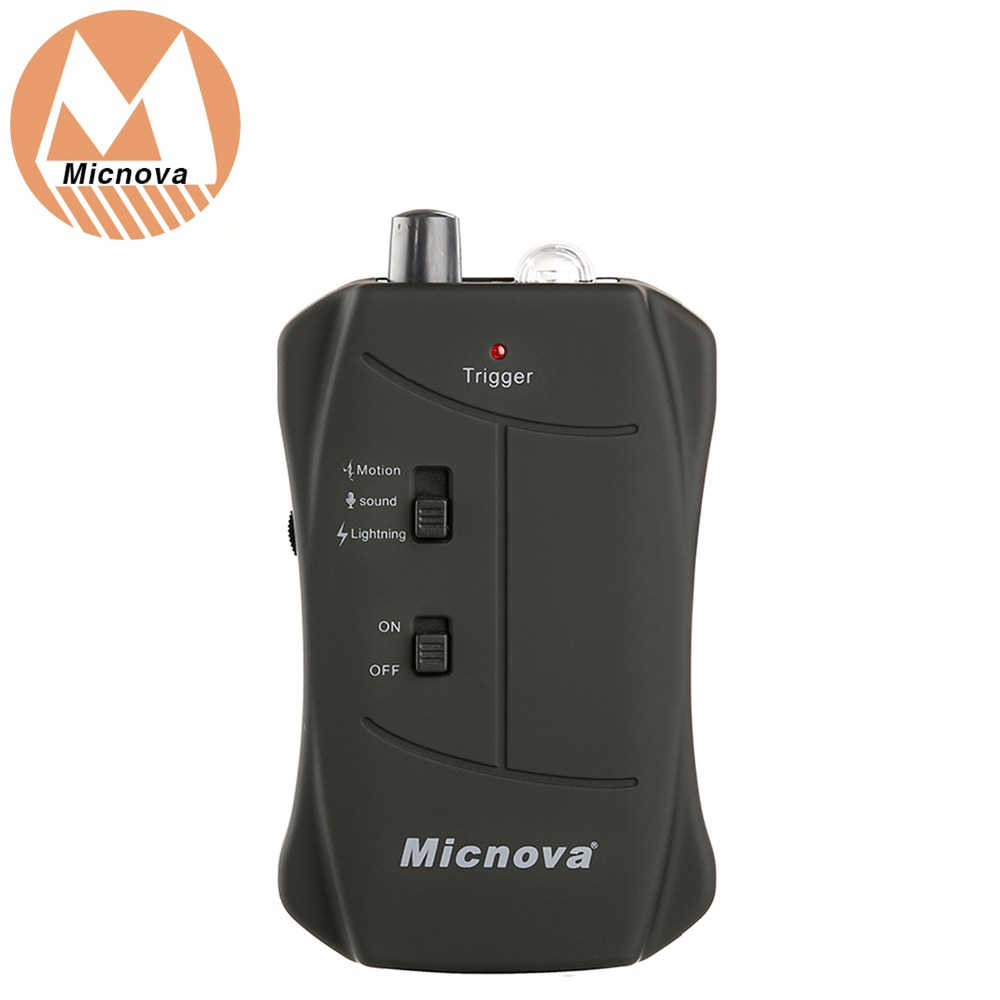 Micnova Lightning Fireworks Motion Sound Sensor Security Wildlife Trigger MQ VTN for Nikon Cameras