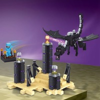 Minecrafted Ender Dragon 634 Pcs Compatible With Lepin Lego Minecrafte Building Blocks Assembled Toys For Children