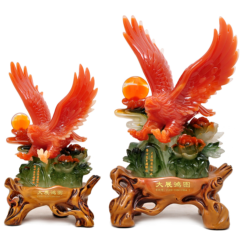 Zhan Grand Opening Celebration Eagle Ornaments Crafts Business Gifts Office Desk Knick Knacks On Aliexpress Alibaba Group