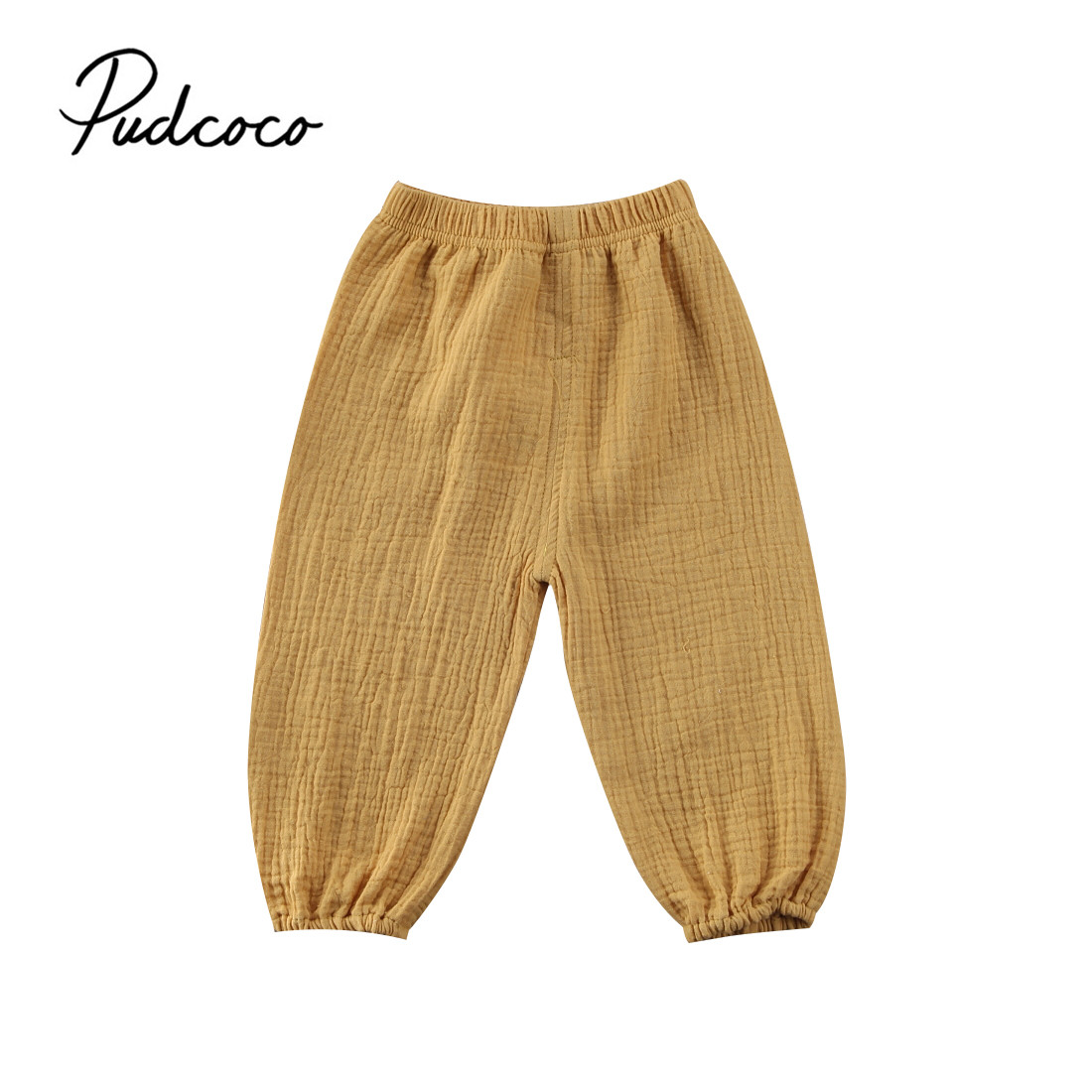 Boy Pants Legging Trousers Bloomers Toddler Vintage Child Baby-Girls Cotton Infant Solid
