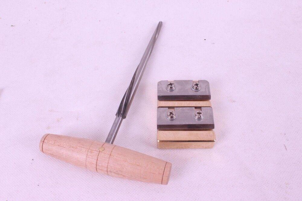 Новая Скрипка Инструмент, Скрипка PEG отверстие расширитель, Скрипка PEG бритье# Q35-1 - Цвет: two tool