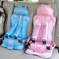 Good Quality Baby Chair Portable Baby Car Seat Cushion Belt For Girls 5 Point Safety Harness