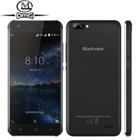 Blackview A7 Android 7 0 3G Smartphone Dual Rear Cameras 5 0 MT6580A Quad Core Cell